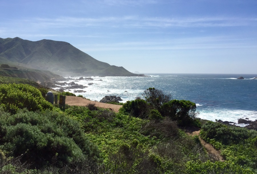 backpacking planning big sur