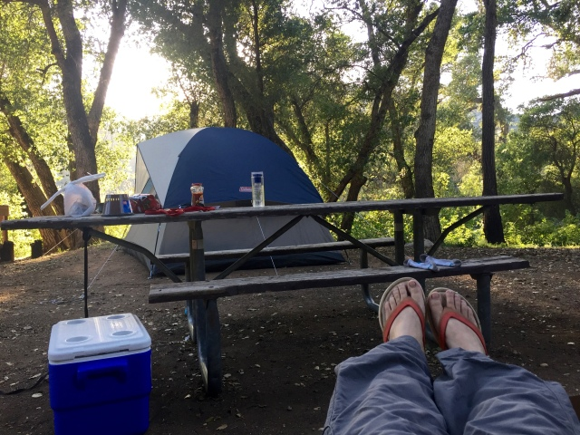 Camping in Ventana Wilderness