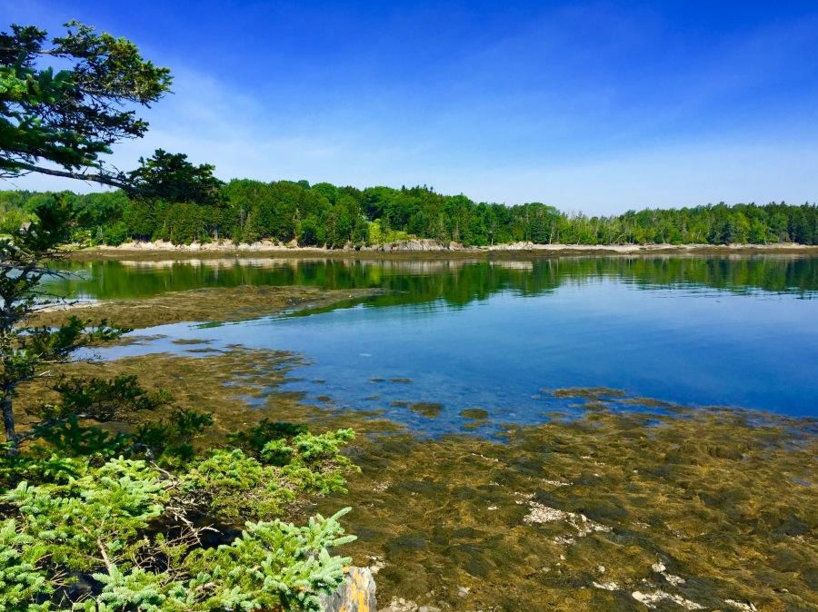 Islesboro Maine Coastline