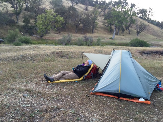 Double Rainbow Tarptent and NeoAir Pad