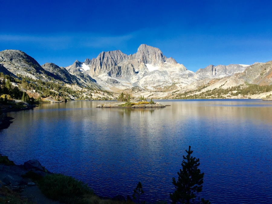 Pristine Gem Lake in the Ansel Adams Wilderness